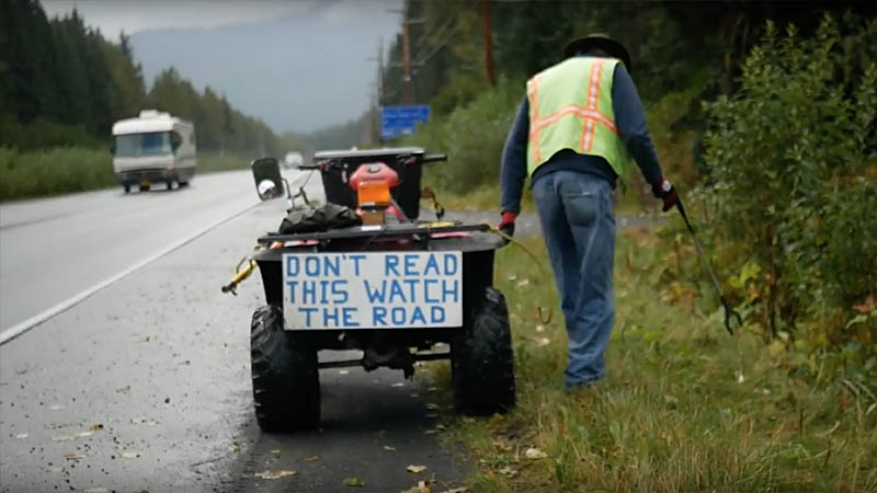 Don't Read This, Watch the Road - Moriah Doepken, Ashland OR