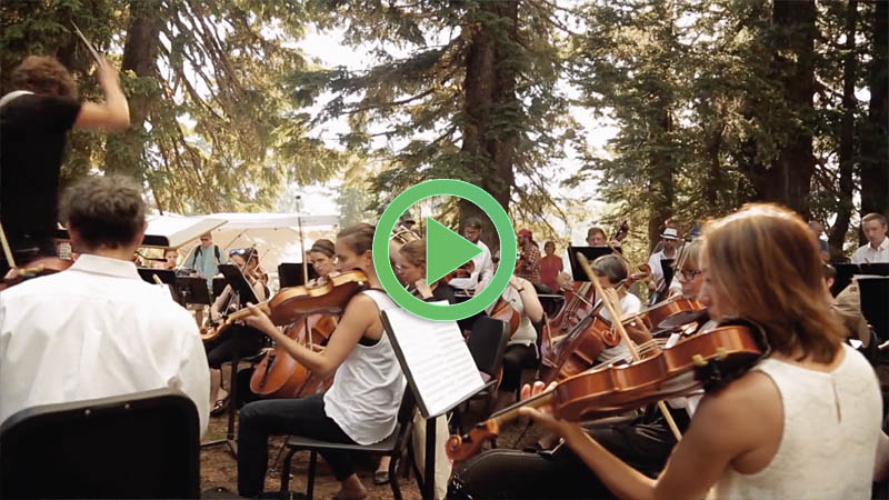 Symphony for Nature: The Britt Orchestra at Crater Lake - Anne Flatte, San Francisco CA