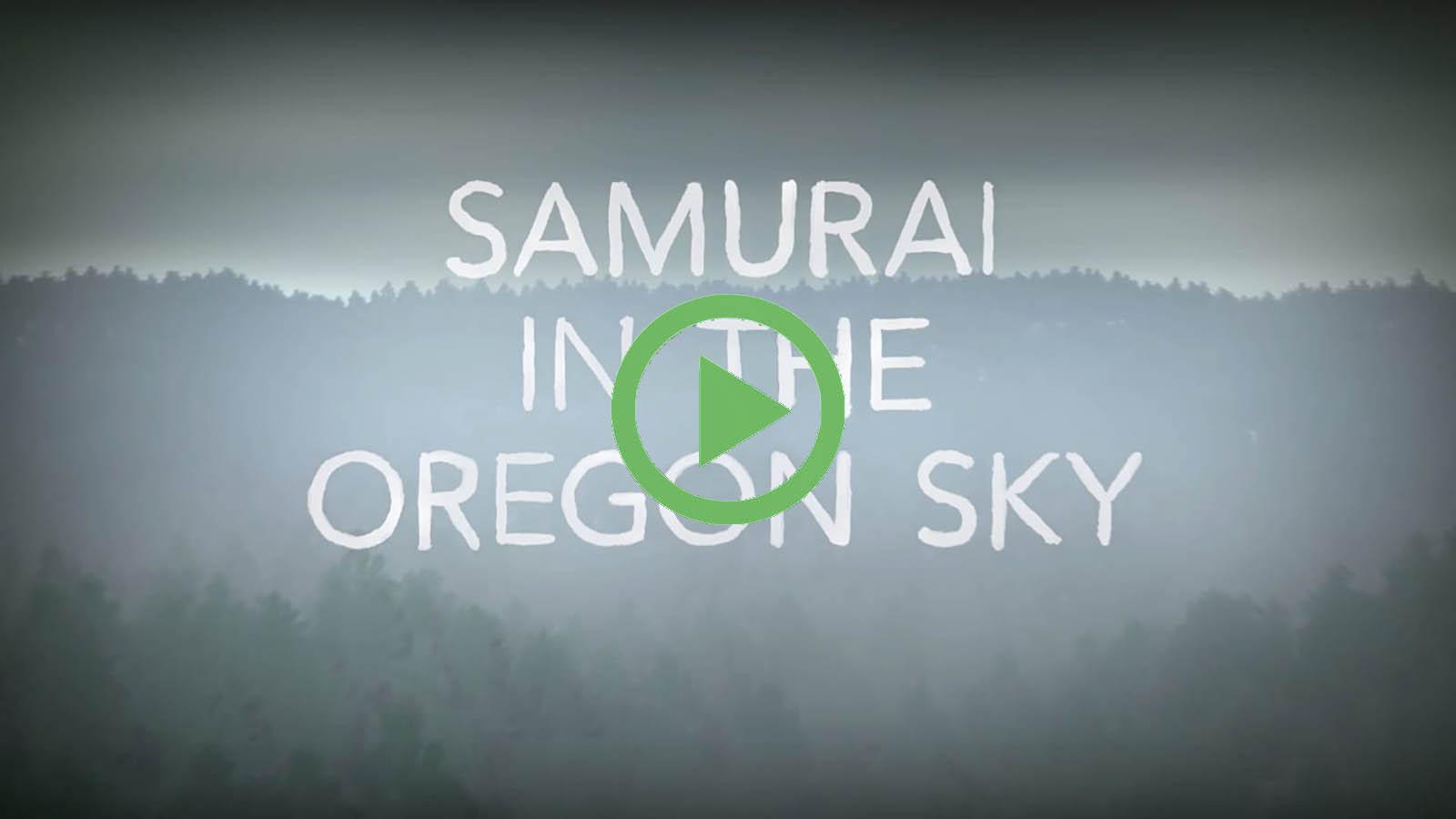 Samurai in the Oregon Sky - Ilana Sol, Portland OR