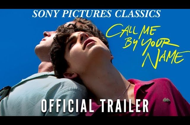 Call Me By Your Name with Writer/Producer James Ivory at Pelican Cinema August 18!