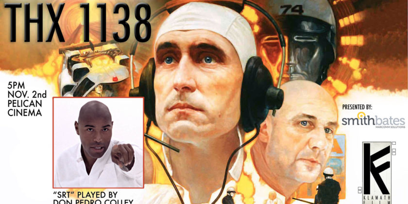 "George Lucas' ""THX 1138"" with Klamath Falls actor showing Nov. 2, 2019"