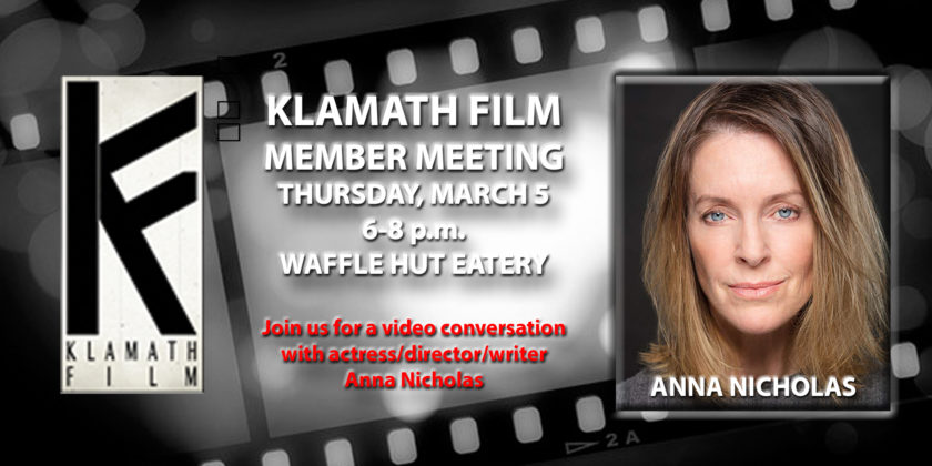 March member meeting features chat with Anna Nicholas