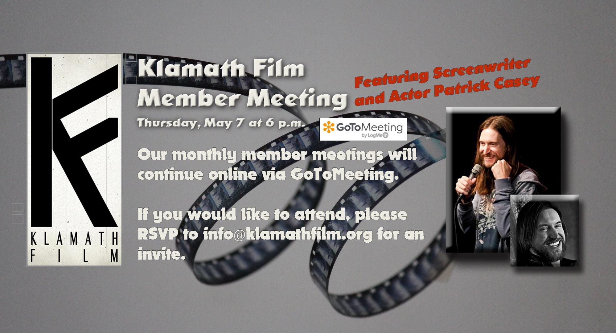 Klamath Film member meetings return in May