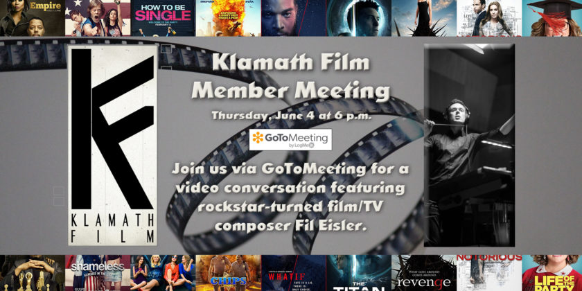 June Member Meeting to feature film composer Fil Eisler