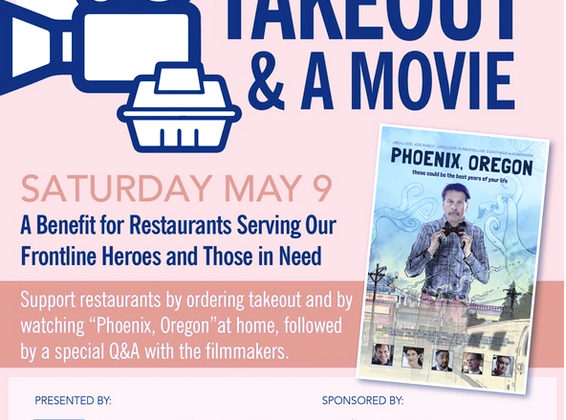 """Phoenix, Oregon"" feature of Takeout & a Movie restaurant fundraiser"