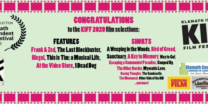 Five features, 30 short films selected for Klamath Independent Film Festival