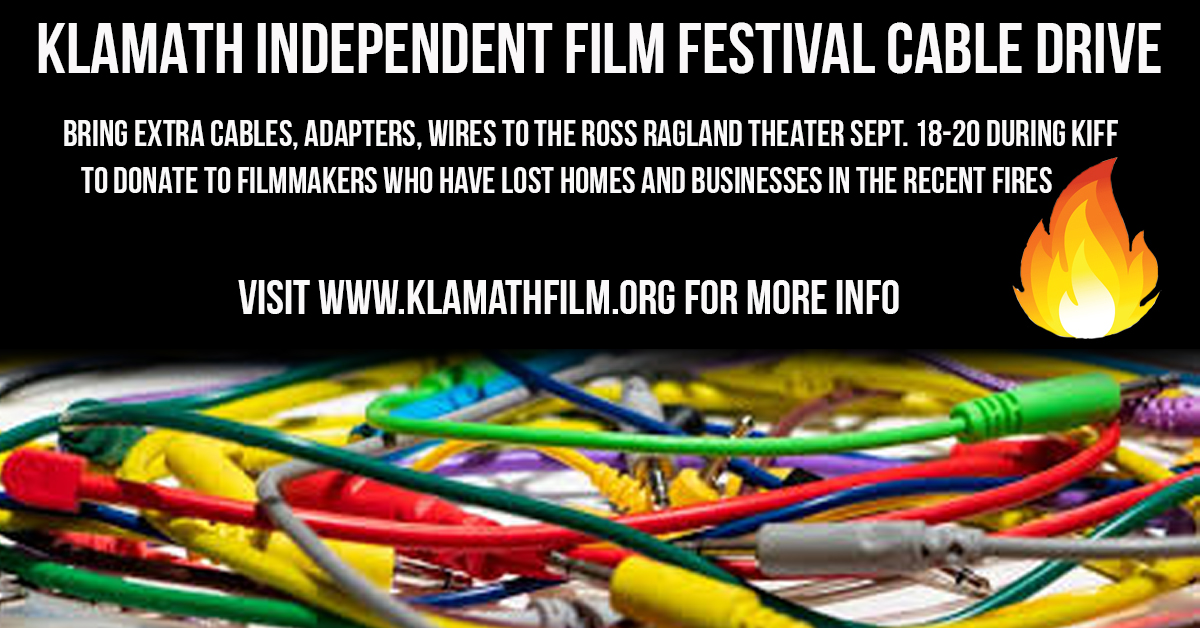 Donate cables, adapters to help filmmakers at Klamath Independent Film Festival
