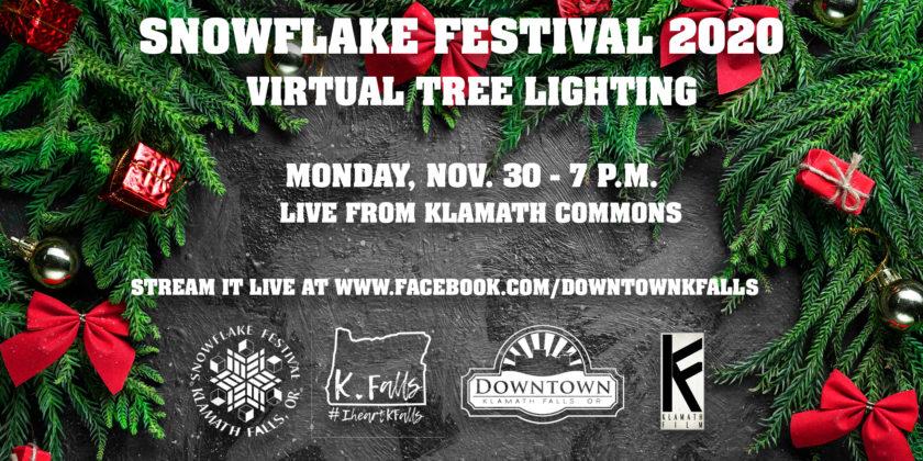Klamath Film provides livestream for Snowflake Festival tree lighting Nov. 30