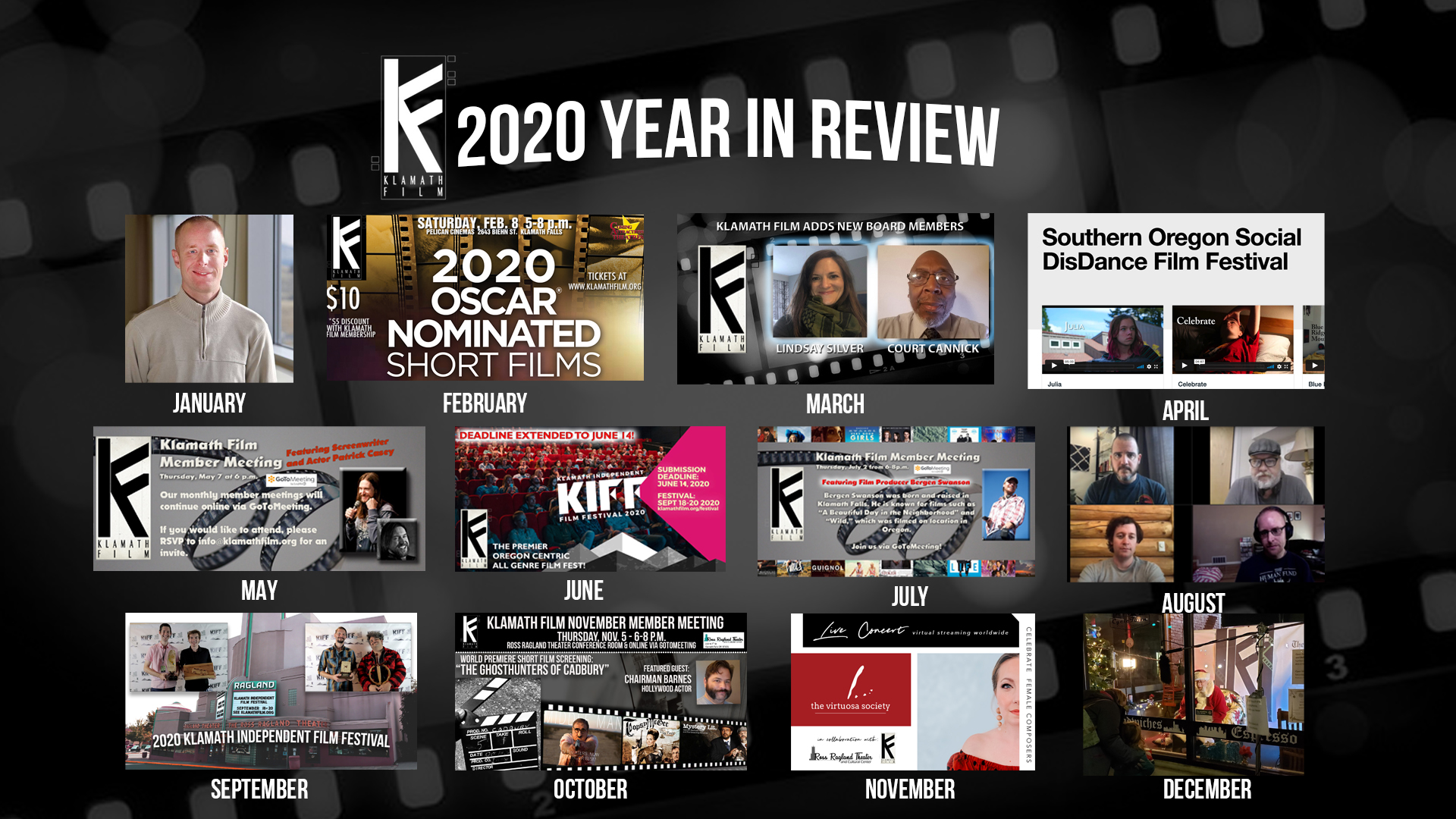 Klamath Film's year in review