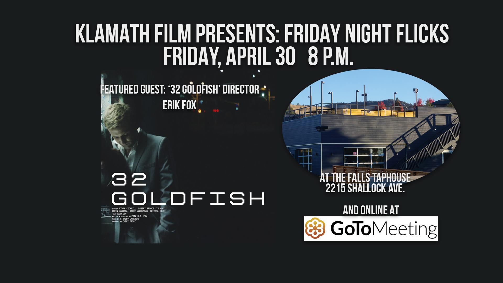 '32 Goldfish' film screening and Q&A at Falls Taphouse April 30