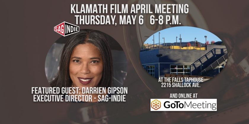 May member meeting at the Falls Taphouse features talk with SAGIndie director Darrien Gipson