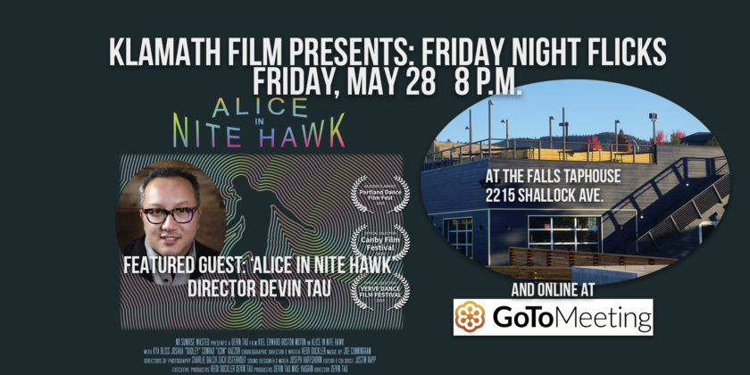 'Alice in Nite Hawk' film screening and Q&A at Falls Taphouse May 28