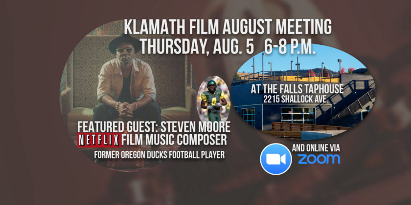 August member meeting at the Falls Taphouse features talk with Netflix music composer Steven Moore
