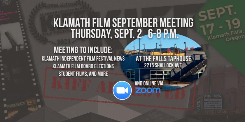 September member meeting at the Falls Taphouse Thursday