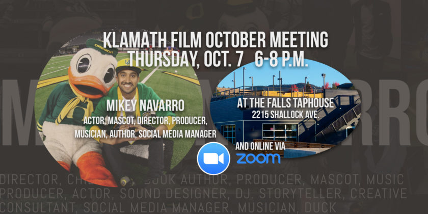 October member meeting at Falls Taphouse Thursday featuring: The Duck